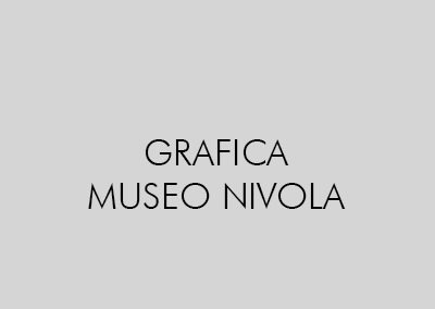 GRAFICA MUSEO NIVOLA DI ORANI