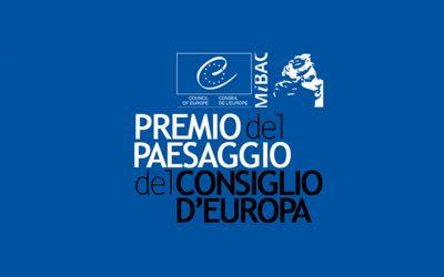 PREMIO DEL PAESAGGIO DEL CONSIGLIO D'EUROPA, 2016